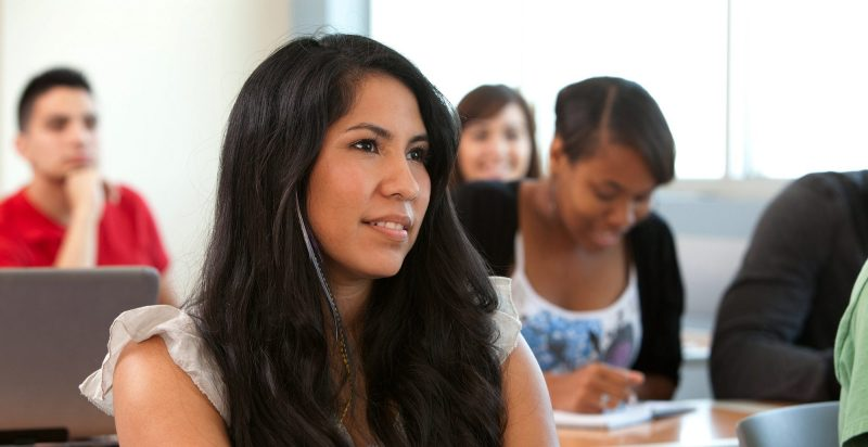RTF student in classroom