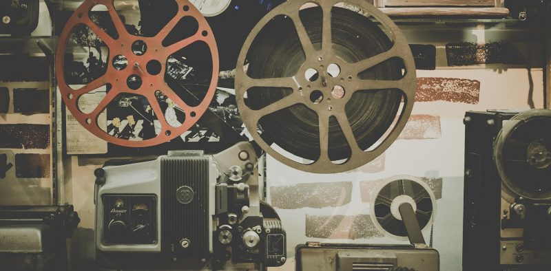 Vintage film equipment